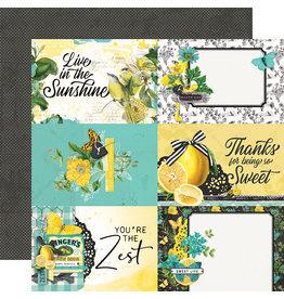 simple stories Simple Vintage Lemon Twist Paper- 4x6 Elements