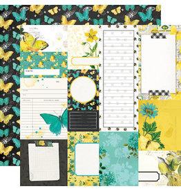 simple stories Simple Vintage Lemon Twist Paper- Journal Elements