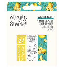 simple stories Simple Vintage Lemon Twist- Washi Tape
