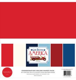 Carta Bella God Bless America: Solids Kit
