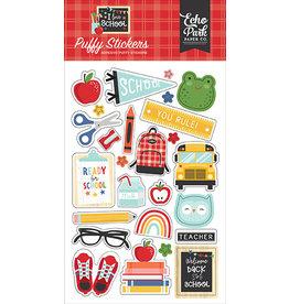 Echo Park I Love School: Puffy Stickers