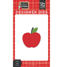 Echo Park I Love School:School Apple Die Set