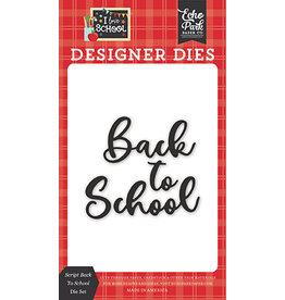 Echo Park I Love School:Script Back To School Die Set