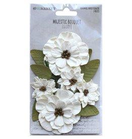 49 & Market Majestic Bouquet: Ivory