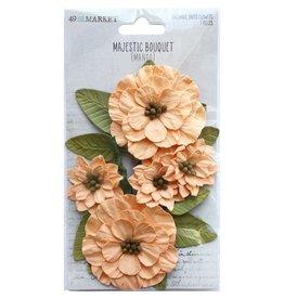 49 and Market Majestic Bouquet: Mango