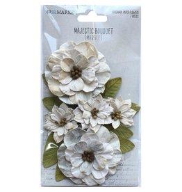 49 & Market Majestic Bouquet: Marble