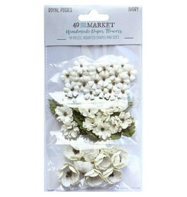 49 & Market Royal Posies: Ivory