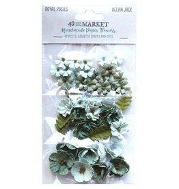 49 & Market Royal Posies: Ocean Jade