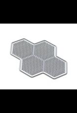 Elizabeth Crafts Art Journal: Honeycomb Dots Die