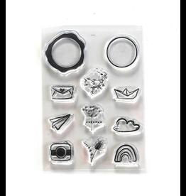 Elizabeth Crafts Art Journal: Seal Embellishments Stamp