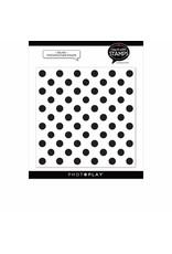 Photoplay Big Dot 6x6 Background Stamp