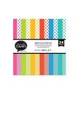 Photoplay Brights dots & stripes 6x6 Pad