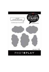 Photoplay Cloud Dies (works w/stencil)