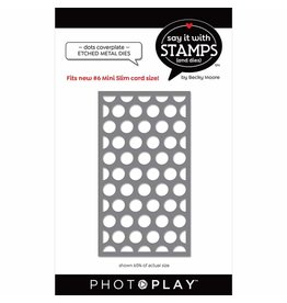 Photoplay #6 Dots Coverplate Dies