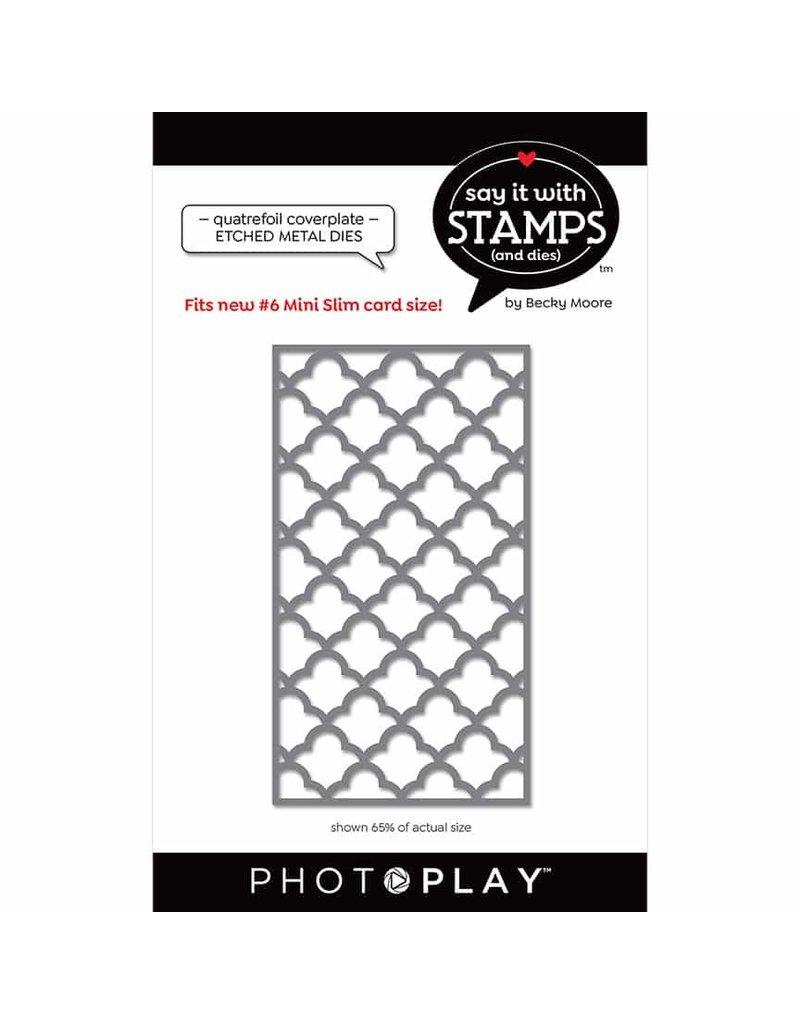 Photoplay #6 Quatrefoil Coverplate Dies