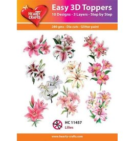 Hearty Crafts 3D Toppers: Lilies
