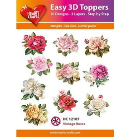 Hearty Crafts 3D Toppers: Vintage Roses