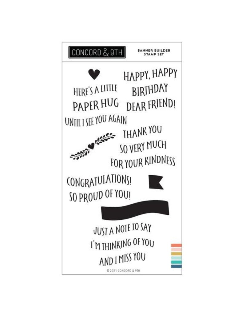 concord & 9th Banner Builder Stamp