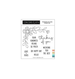 concord & 9th Thinking of You Stamp Set