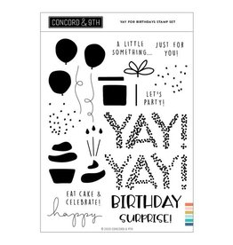 concord & 9th Yay for Birthdays Stamp Set