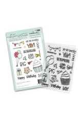 Polkadoodles Big Birthday Surprise Stamp