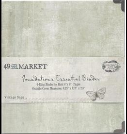 49 and Market Foundations Essential Binder:Vintage Sage
