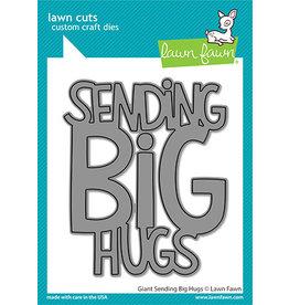 lawn fawn giant sending big hugs die