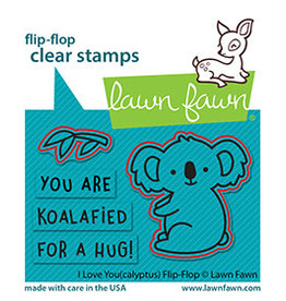 lawn fawn i love you(calyptus) flip-flop die