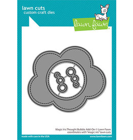 lawn fawn magic iris thought bubble add-on die