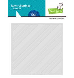 lawn fawn plaid stencil
