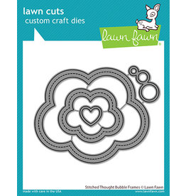 lawn fawn stitched thought bubble frames dies