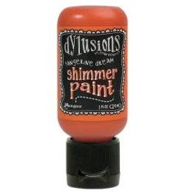 notions Tangerine- Dylusions Shimmer paint