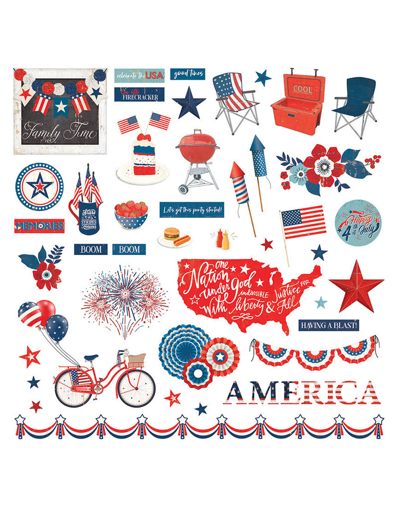 Photoplay America the Beautiful - Element Sticker