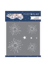Photoplay America the Beautiful - Stencil Firework