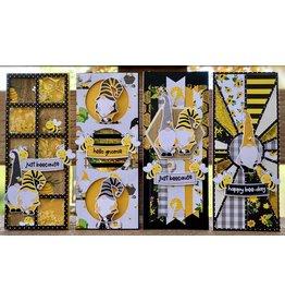 Nikki Sher 7/10/21 Sweet as Honey Slimline Foil Cards by Nikki Sher