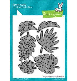 lawn fawn tropical leaves die