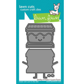 lawn fawn smiley s'more die