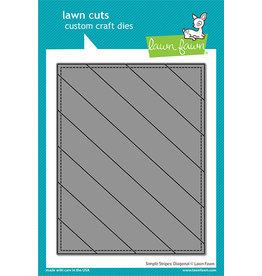 lawn fawn simple stripes die: diagonal