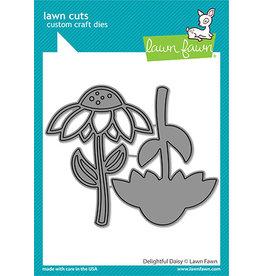 lawn fawn delightful daisy die