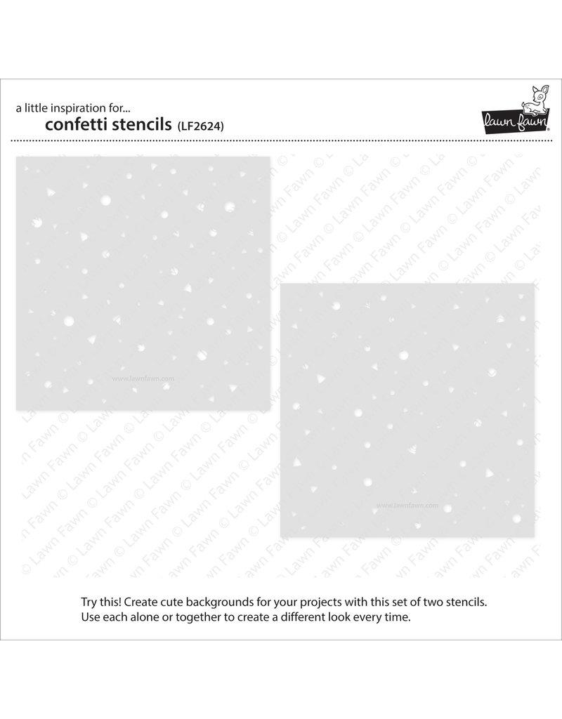 lawn fawn confetti stencils