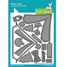 lawn fawn build-a-campsite die