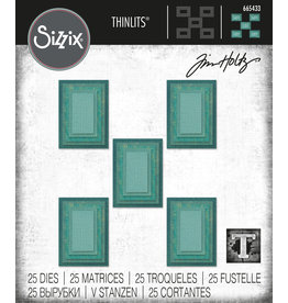 Tim Holtz Stacked Tiles Dies:Rectangles