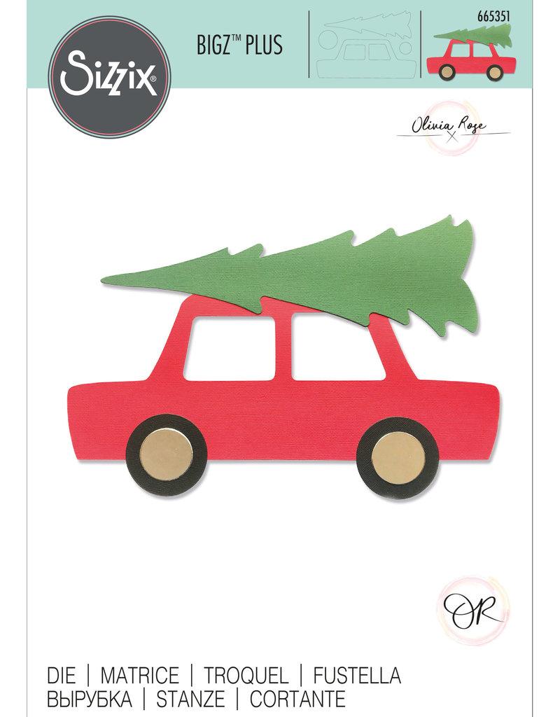 Olivia Rose Car & Tree Bigz Plus Die