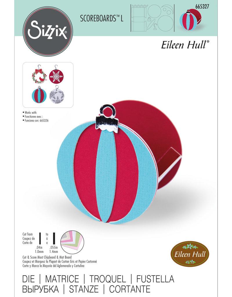 Eileen Hull Box, Ornament by Eileen Hull Scoreboard L Die
