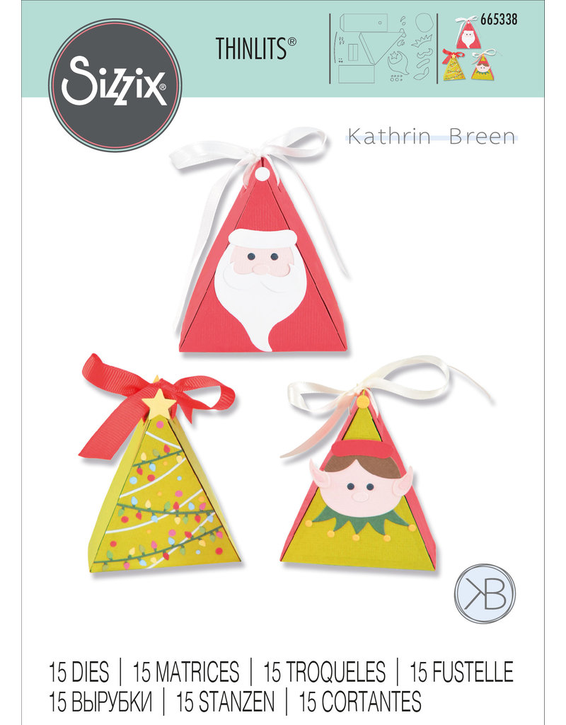 Kath Breen Christmas Character Box  Die