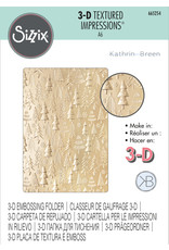 Kath Breen Christmas Tree Pattern 3D Embossing folder