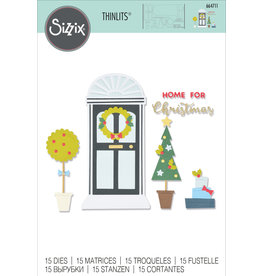 sizzix Home for Christmas Die