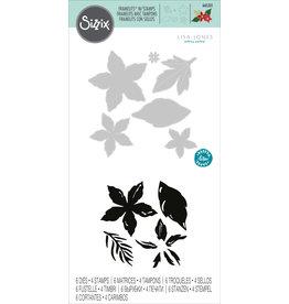 Lisa Jones Seasonal Flowers Stamp & Die