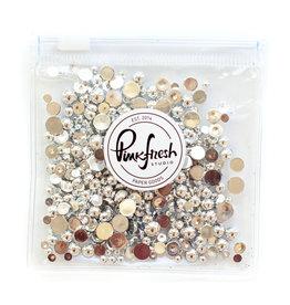 pinkfresh studios Metallic Pearls: Silver