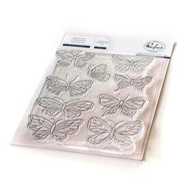 pinkfresh studios Small Butterflies stamp set